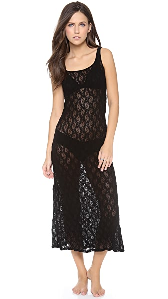Only Hearts Stretch Lace Tank Gown