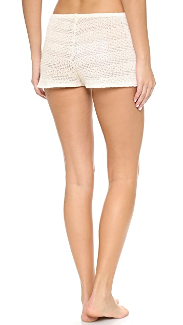Only Hearts Pixie Pointelle Sleep Shorts