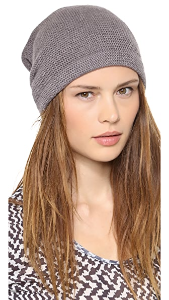 1717 Olive Purl Knit Slouch Beanie