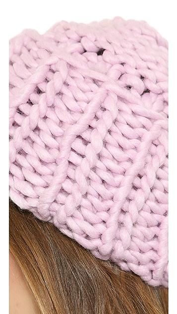 1717 Olive Chunky Knit Beanie