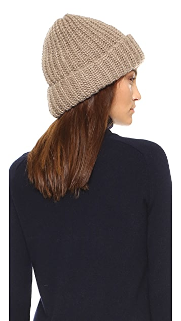 1717 Olive Lofty Rib Knit Cuffed Beanie