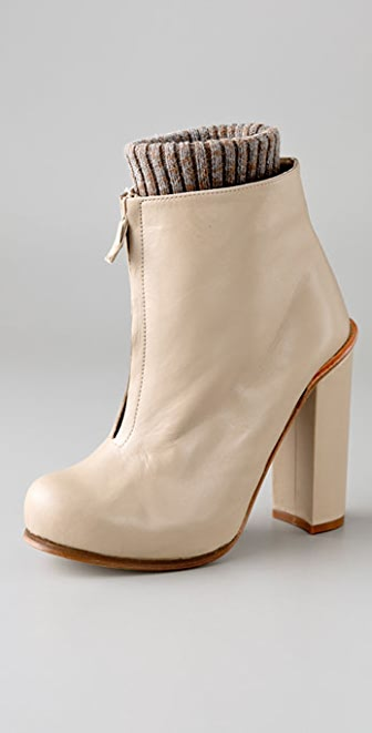 Opening Ceremony Zip Front Booties