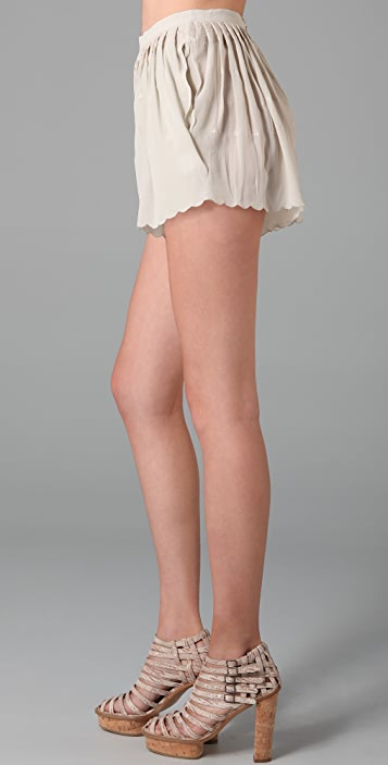 Opening Ceremony Silk Shorts