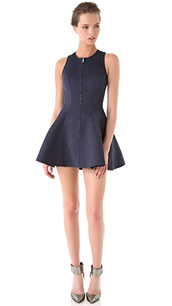 Opening Ceremony Reversible Twist Back Scuba Dress