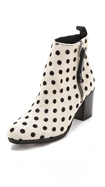 Opening Ceremony Shirley Polka Dot Haircalf Booties