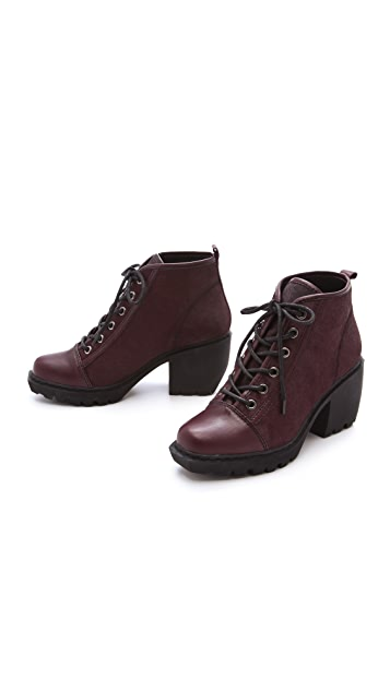 Opening Ceremony Grunge Haircalf Booties