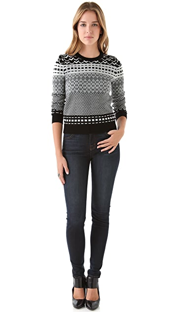Opening Ceremony Fair Isle Sweater