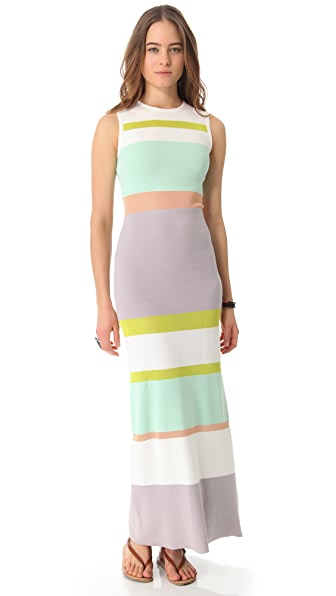 Opening Ceremony Memphis Stripe Dress