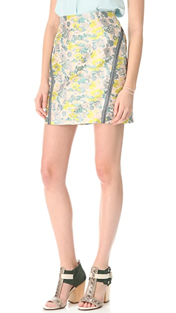 Opening Ceremony Taped Seam Jacquard Skirt