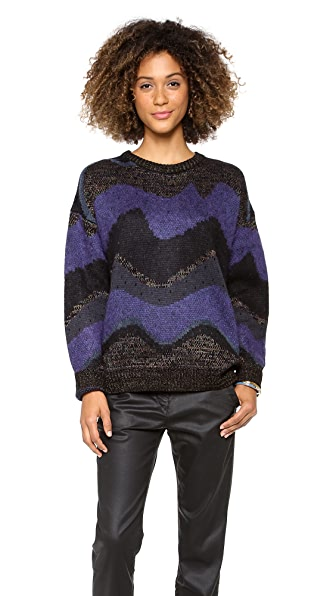 Opening Ceremony Goddess Crew Neck Sweater