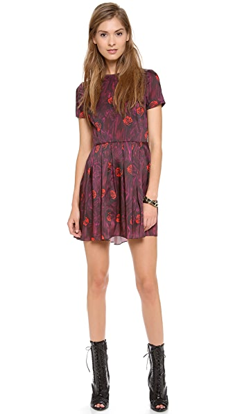 Opening Ceremony Lizzy Pleated Dress