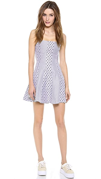 Opening Ceremony Esther Seamed Mini Dress