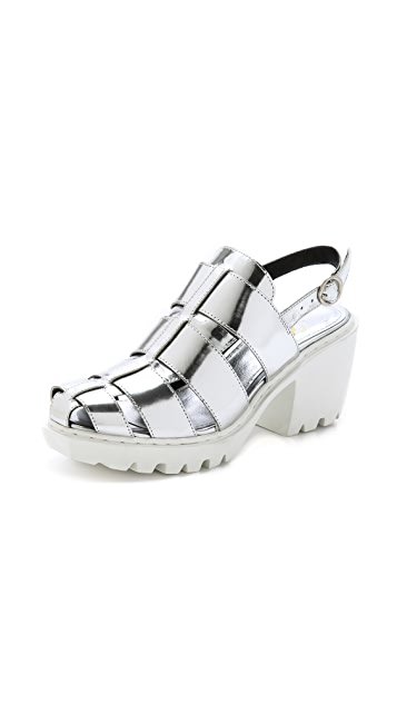 Opening Ceremony Grunge Fisherman Sandals
