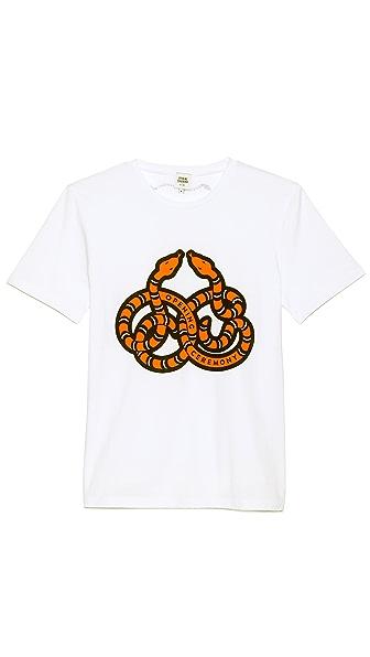 Opening Ceremony Snake Logo T-Shirt