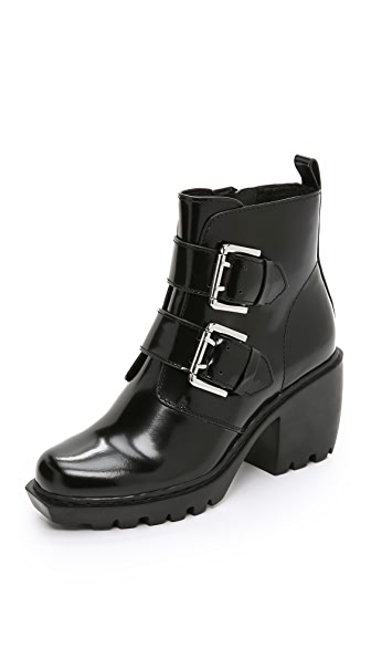 Opening Ceremony Grunge Belt Buckle Booties