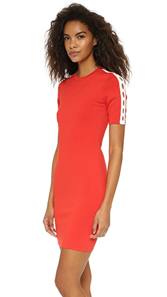 Opening Ceremony Cutout Short Sleeve Dress