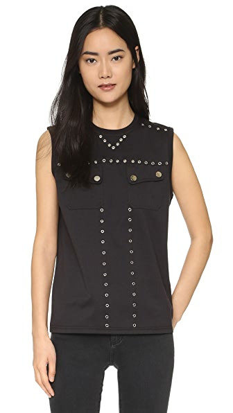 Opening Ceremony Studded Muscle Tank