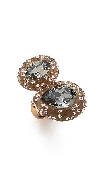 Oscar de la Renta Bold Paved Resin Ring