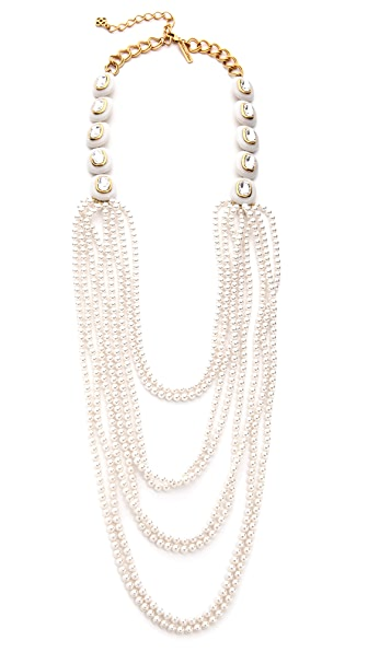 Oscar de la Renta Strand Necklace