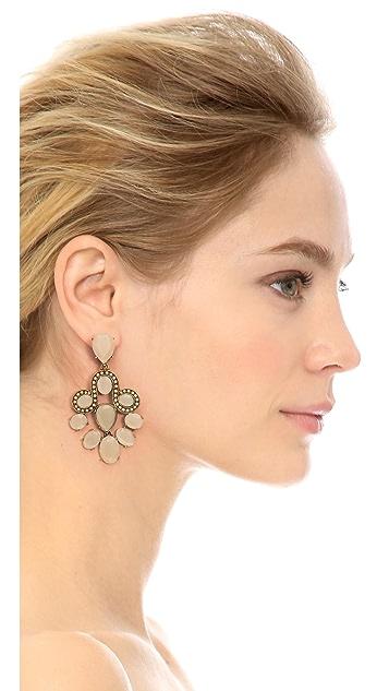 Oscar de la Renta Chandelier Earrings