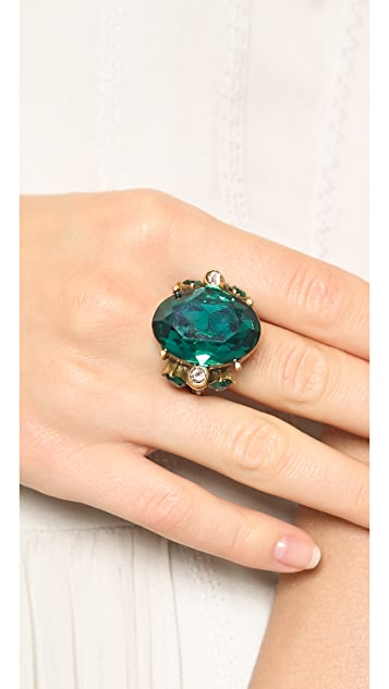 Oscar de la Renta Jeweled Ring
