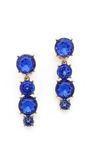 Oscar de la Renta Jewel Drop Earrings