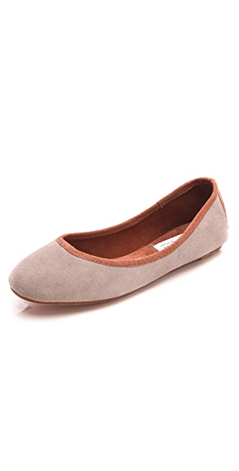 Osborn Suede Ballet Flats