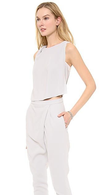 O'2nd Wrap Detailed Jumpsuit