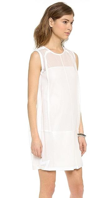 O'2nd Mesh Tunic Dress