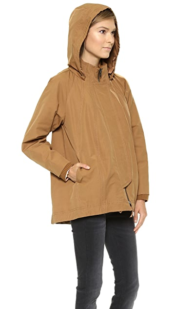 O'2nd Hooded Trapeze Jacket
