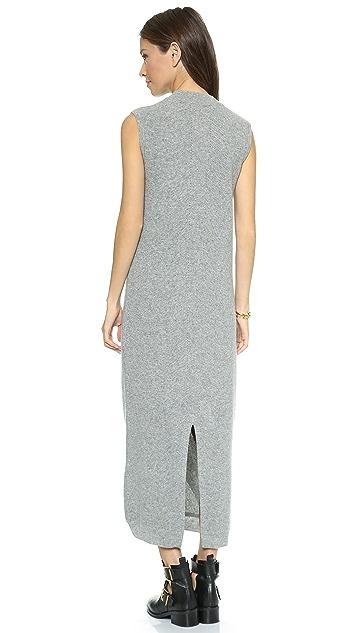 O'2nd Wool V Neck Sweater Dress