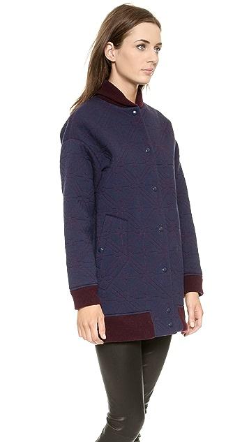 O'2nd Star Quilting Varsity Coat