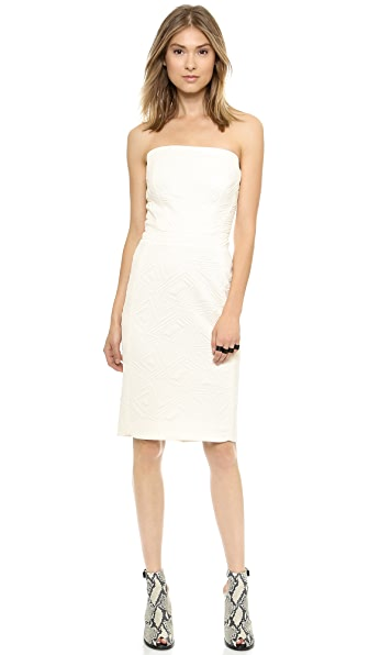 O'2nd 1 by O'2nd Quilted Strapless Dress