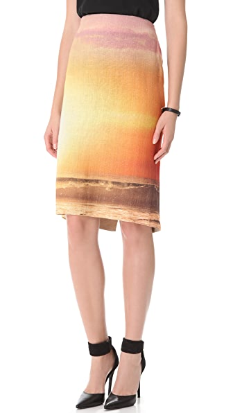 Osklen Rustic Twilight Skirt