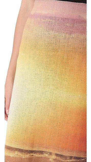Osklen Rustic Twilight Skirt