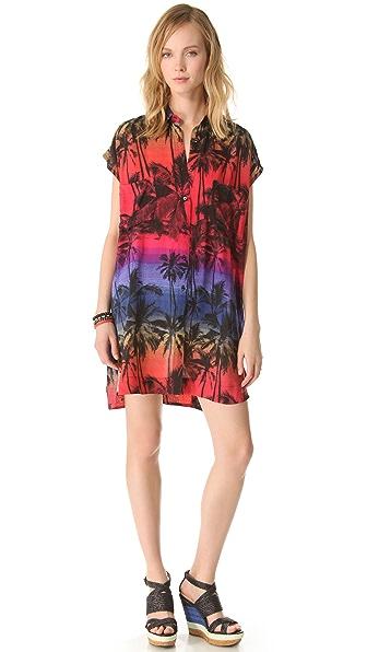 Osklen Roving Print Dress