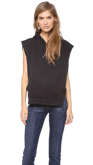 Osklen Overlap Hooded Sweatshirt