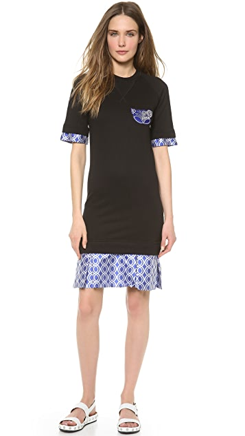 Ostwald Helgason Drop Waist Layered Dress