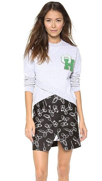 Ostwald Helgason Cropped OH Sweatshirt