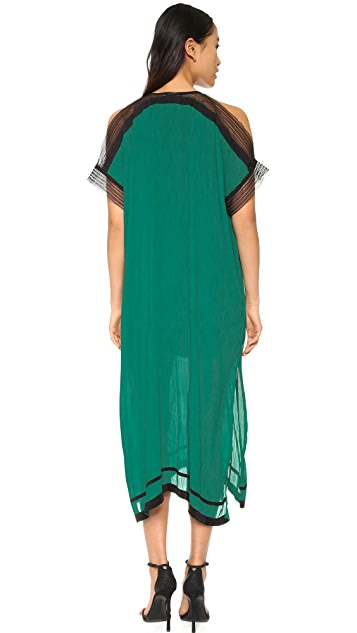 Ohne Titel Pleated Caftan