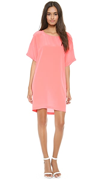 OTTE NEW YORK Solid Bobo Dress