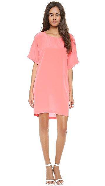 OTTE NEW YORK Solid Bobo Dress