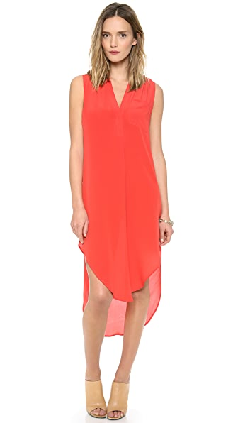 OTTE NEW YORK Solid Ellen Dress
