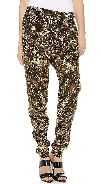 OTTE NEW YORK Snake Harem Pants