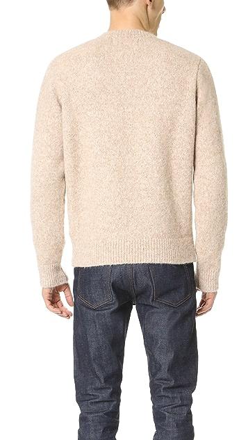 Our Legacy Regular Alpaca Crew Neck Sweater