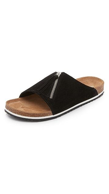 Our Legacy Tassle Slip On Sandals