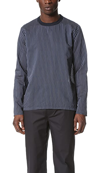 Our Legacy Striped Woven Long Sleeve