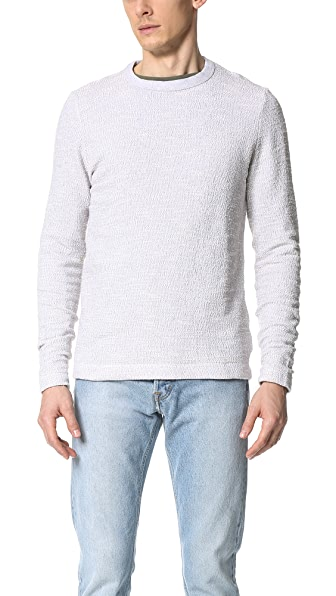 Our Legacy Long Sleeve Pique Boucle Tee