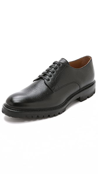 Ovadia & Sons Midwood Pebble Grain Derby Shoes