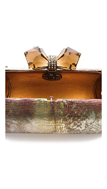 Overture Judith Leiber Concave Side Rectangle Clutch